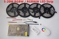 20m LED Strip 5050 RGBW Waterproof 5m 10m 15m IP65 Tape 18A RF Remote Controller Power