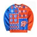 2017 Venta Caliente Famosa Estrella Kobe Bryant Patrón 3d Camiseta de Los Hombres Al Aire Libre Deportes Hip Hop Ropa Deportiva Suéter