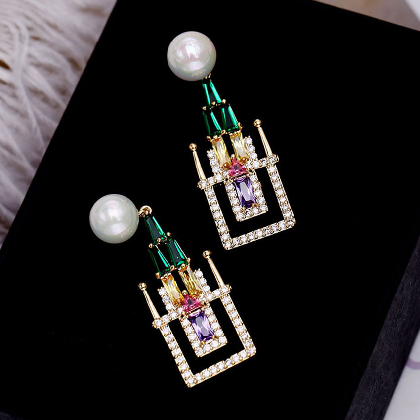 Fairy Tale Castle Earring