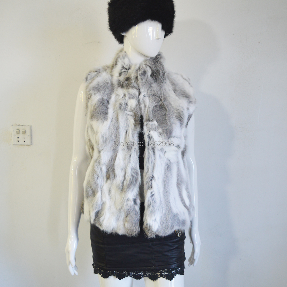d7312a644 SJ225 01 Natural Gray Asia China Made America High Quality Cheap Price  Rabbit Warm Furs Waistcoat-in Real Fur from Women's Clothing on  Aliexpress.com ...