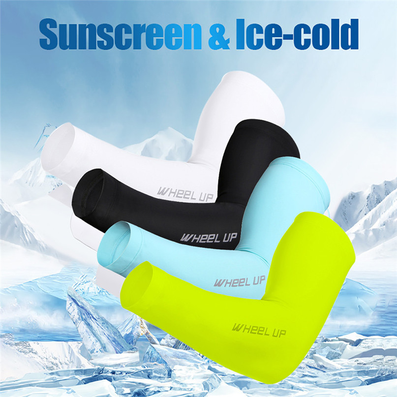 UV Sun Protection Cover Fishing Gloves For Sports Golf Bicycle Fishing Sports Running Elbow Arm Warmers MTB Bike Arm Guard M28