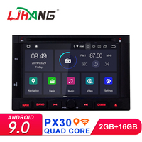 LJHANG 2Din Android 9.0 Car DVD Multimedia Player For PEUGEOT 3008 5008 2009 2010 2011 Partner Berlingo Car Radio GPS Wifi 8IPS