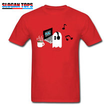 Swag T-shirt For Men Tshirt Napstablook Chill Undertale T Shirt 2019 Funny Tees Ajax Tops Geek Game Streetwear Hip Hop Red Tees(China)