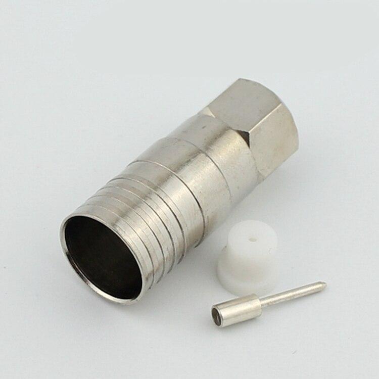 copper 75 9 Single Shield Wire F type connector for CATV distributor ...