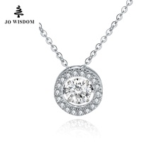 Natural Topaz 100% 925 Sterling Silver Necklaces & Pendants for Women Mothers Day Gift Collane Con Pendenti