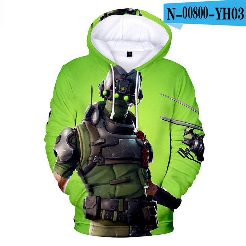 3D Print Hoodie Fortnited Fortniter Moletons Game Kid Clothings Costume Streetwear Women Clothing Kid Clothes Game Clothes Boys