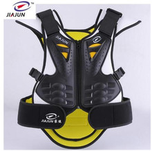JIAJUN Ski Snowboard Motorcycle Protection Body Vest Anti-Wrinkle Motocross Black Green Jacket