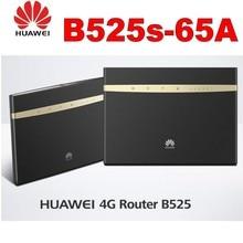 Huawei B525s-65a 4G LTE Cat6 Wireless Router plus 2pcs huawei antenna lot of 2pcs unlock huawei e8372h 607 150mbps 4g lte 12v car wifi router plus 2pcs antenna and usb adapter