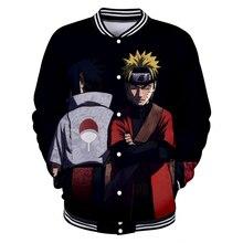 Naruto Baseball Jacket Streetwear
