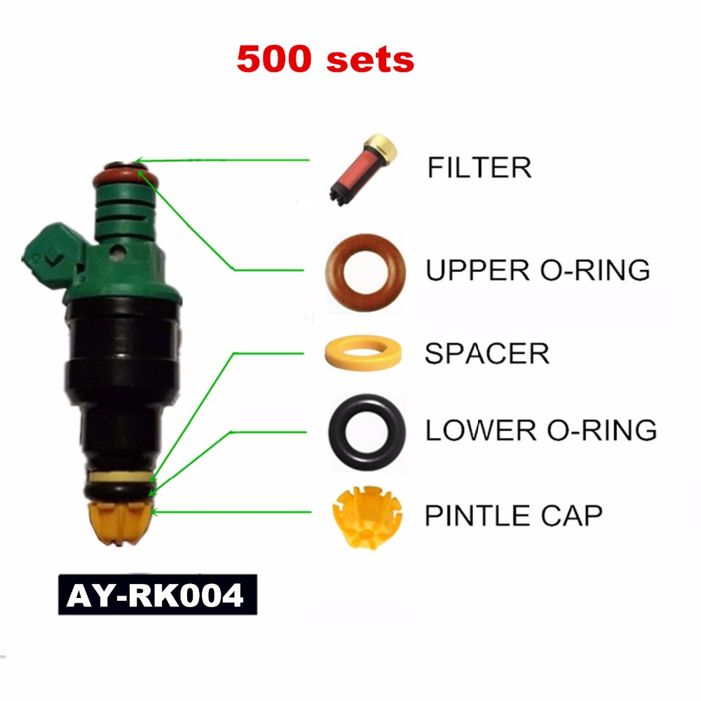 500 sets einspritzventil-reparatursatz Für BMW E36/E34/M50/S50 3.0L M3 2.5L 323i 525i OEM 0280150415 (AY-RK004)