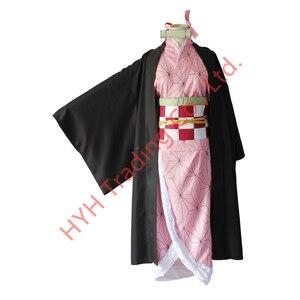 Image 4 - Женский костюм кимоно из аниме «рассекающий демонов»