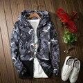 Mens jaqueta Quick-secagem Harajuku Skate Camuflagem Jaquetas Homens/Mulheres Roupa militar Casacos Chaqueta TJA012