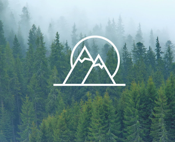 Simple Pattern High Mountains Wall Decal Laptop Cellphone Telephone Switch Wallpapers Window Decals Vinyl Sticker Mural S 356