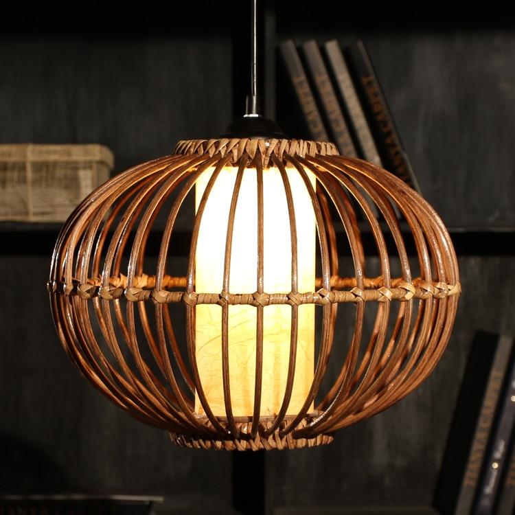 Hanglamp rotan indonesië rotan handgemaakte verlichting lamp ...