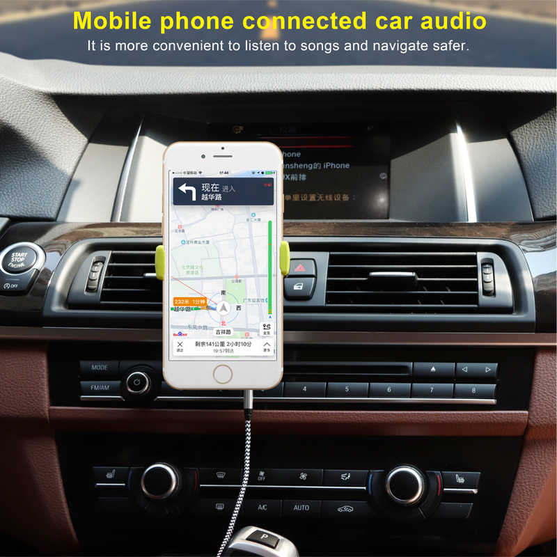 1 м Aux кабель Jack 3,5 мм аудио кабель 3,5 мм Jack динамик кабель штекер для автомобиля Aux шнур для JBL наушников iphone samsung AUX шнур
