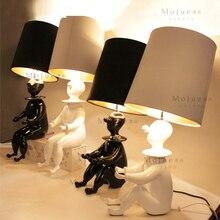 Куклы ночники стол лампа лаконичный лампа клоун