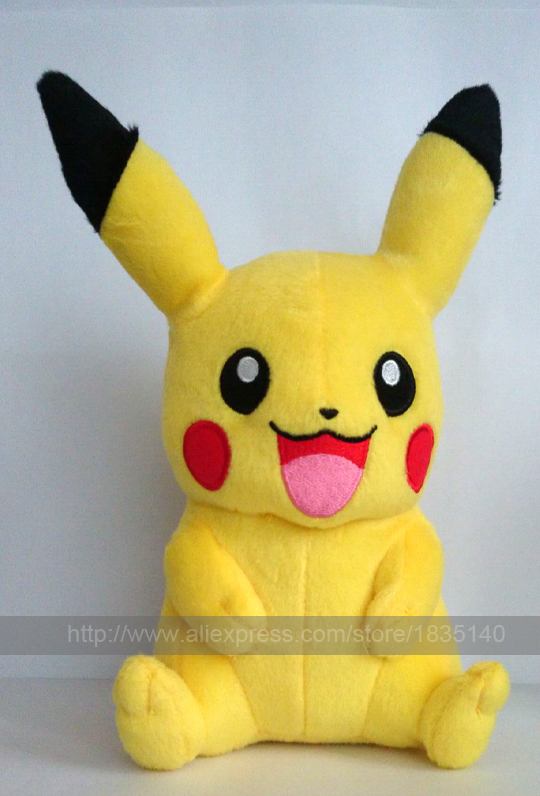 cartoon peluche pikachu plush pikachu plush toys doll 8 inches cute childrens toy kids gift