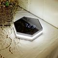 Multi-função de Alarme Led Digital Clock Night Light Espelho com Display de Temperatura Termômetro Sensor de Toque Lâmpada de Mesa Relógios De Viagens