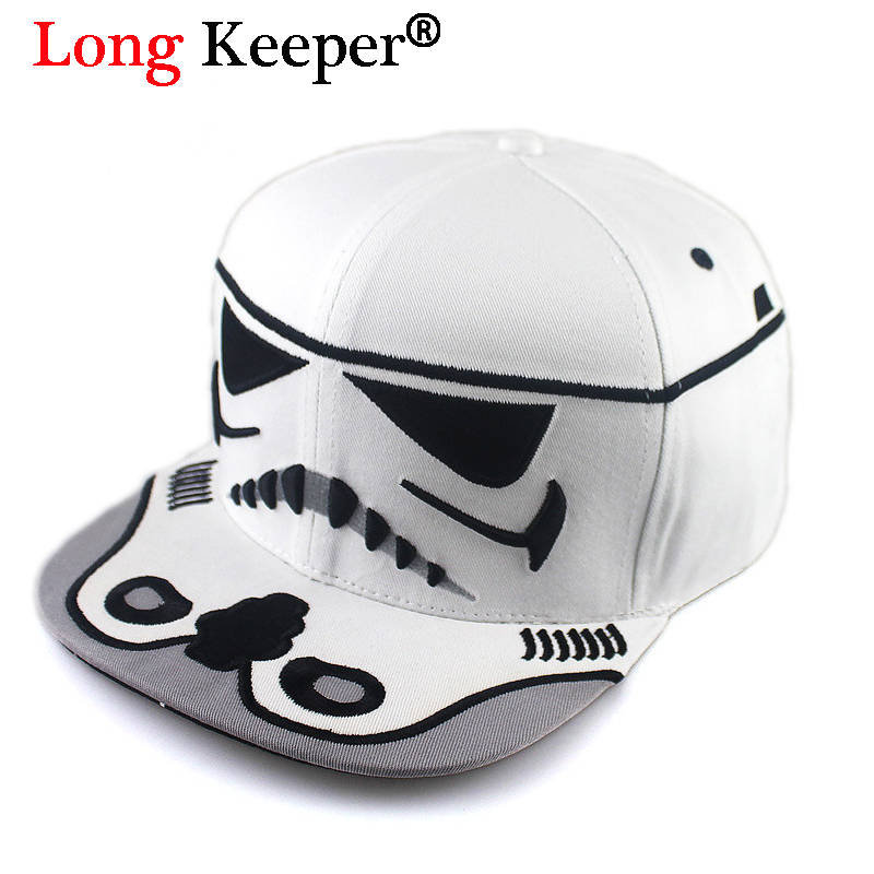 Long Keeper Free Shipping! Men Women Space Star Wars Snapback Caps Pop Boys Baseball Caps Hip Hop Trucker Hat Bone casquette 35colors silver gold soild india scarf cap warmer ear caps yoga hedging headwrap men and women beanies multicolor fold hat 1pc