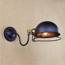 цена на America Retro Style Loft Industrial Wall Lamp Vintage Stair Light Edison Wall Sconce Arandelas Wandlamp