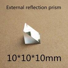 2 шт. 10x10x10 мм Угловые K9 треугольные помои внешний отражающие призма объектив для lazyglasses