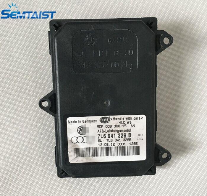 semtaist Genuine OEM AFS Leistungs headlight part 7L6 941 329B 7L6941329B used free shipping post