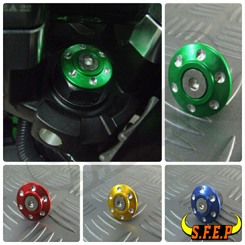 2016-2017 For Kawasaki Z125/Z125Pro CNC Aluminum Steering Stem Cap Cover