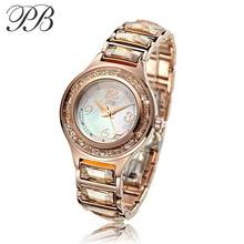PB Element Watch OEM Luxury Waterproof Automatic Mechanical Genuine Leather couple WristWatches HL591