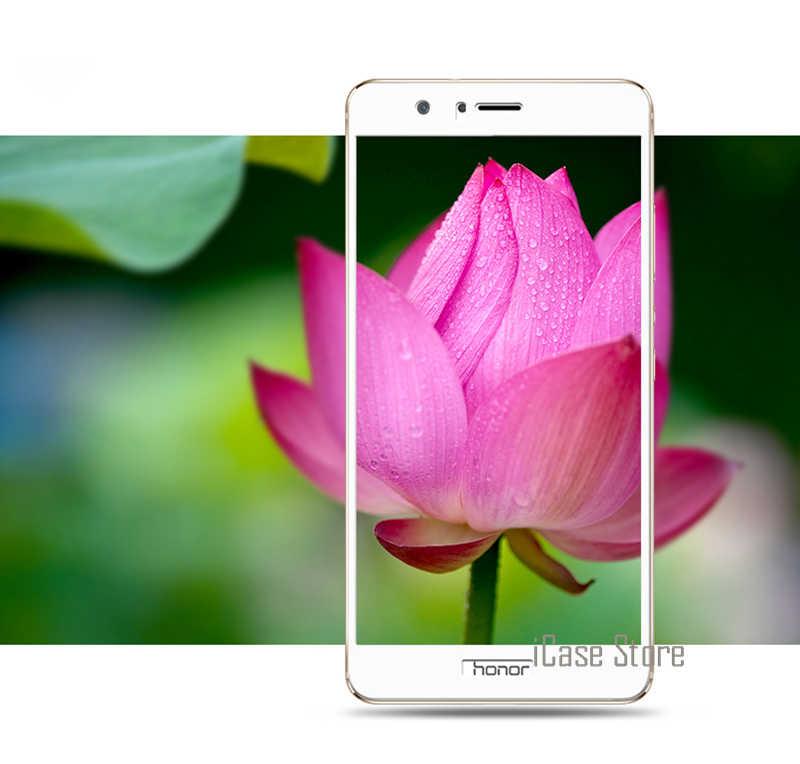 Pieno Della Copertura Della Protezione Dello Schermo In Vetro Temperato Per Huawei P10 Lite Plus Honor 8 P9 P8 Lite 2017 V9 V8 Honor 6X 6 7 Nova Caso Della Copertura