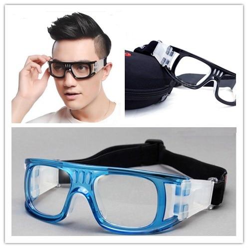 1cd553f2f29 Aliexpress.com  Compre Men Anti fog soccer basketball myopia glasses  bendable soccer glasses protective goggles flexible sports eyewear  eyeglasses de ...