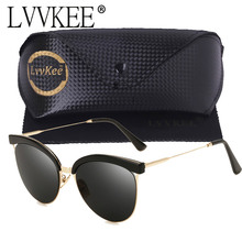 lvvkee hot SuperStar Sexy Cat Eye Sunglasses Women 2017 New Design Candy Color Mirror Sun Glasses For Woman Cateye rays Shades