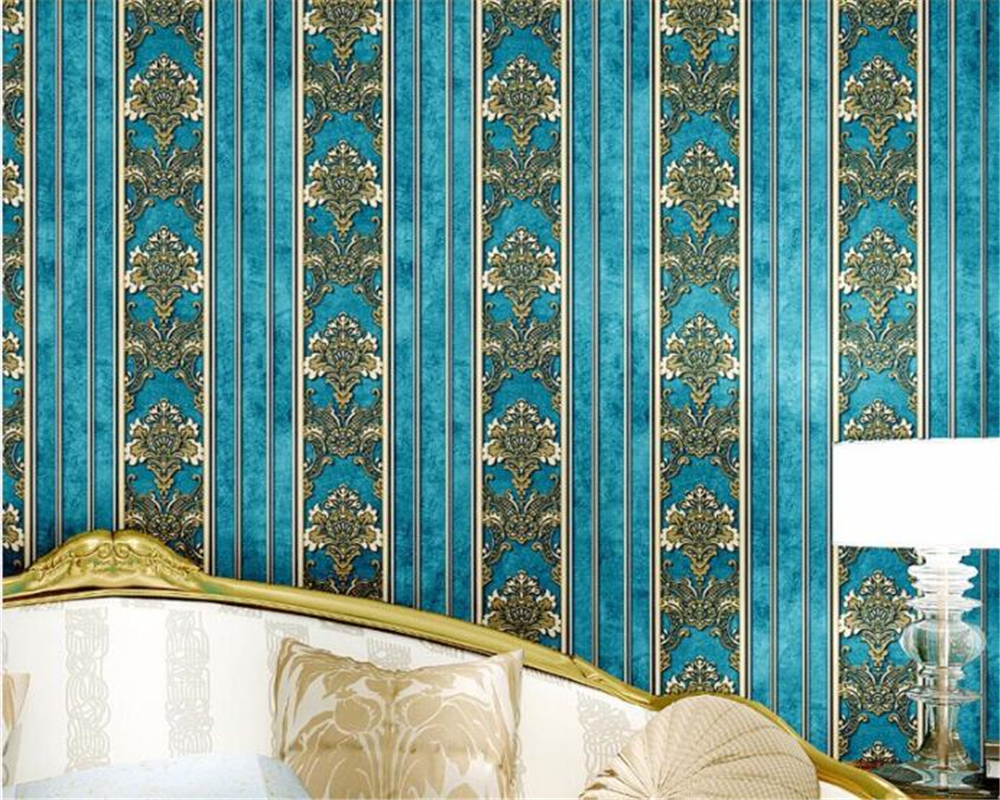 Beibehang papel de parede 3d room wallpaper landscape stereoscopic stripes wall paper bedroom living room TV backdrop wallpaper
