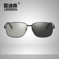 Leidisen Photochromic Eyewear Polarized Anti Glare Driver Specs Sunglasses For Men Sun Glasses Eyeglasses Polar Occhiali Uv400