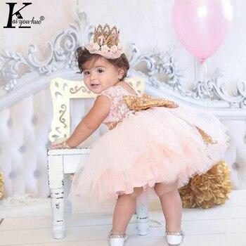 KEAIYOUHUO bébé filles robe arc fête noël robes filles vêtements 1 2 3 4 5 Y robe de mariée d'été Vestidos Costume pour enfants