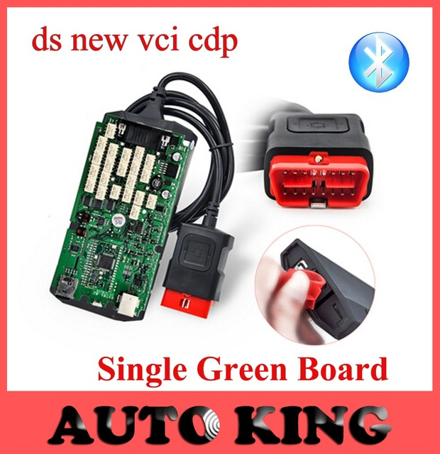2017 Single Board with good NEC RELAYS CDP Bluetooth 2014.R2 With Keygen TCS CDP PRO Diagnostic Tool free ---DHL FREE shipping