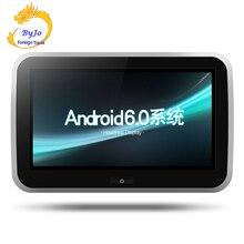 10.1 pulgadas coche Android 6.0 incorporado en la tarjeta de red inalámbrica WiFi video del coche Full HD 1080 p apoyo 4 K Android