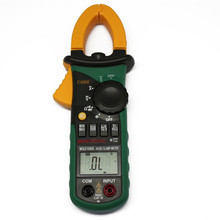MASTECH MS2108 AC DC clamp meter T RMS digital auto range multimeter Voltmeter Ammeter Capacitor Resistance tester