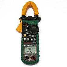 Mastech MS2108 ac dcクランプメータT RMSデジタルオートレンジマルチメータ電圧計電流コンデンサ抵抗テスター