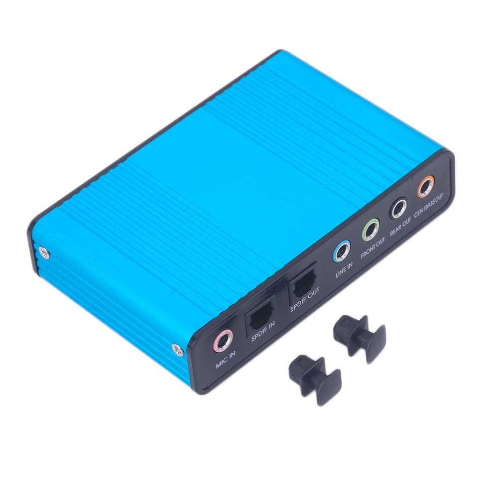 New Professional External USB Sound Card Channel 5.1 Optical Audio Card Adapter for PC Computer Laptop Wholesale