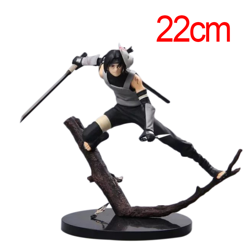 22cm <font><b>Anime</b></font> <font><b>Action</b></font> <font><b>Figures</b></font> <font><b>Naruto</b></font> Shippiden <font><b>Uchiha</b></font> <font><b>Itachi</b></font> Dark Ver <font><b>PVC</b></font> <font><b>Action</b></font> <font><b>Figure</b></font> Collectible Model Toy Gifts
