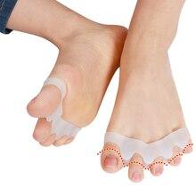 Silicone Toe Separators Orthotics Stretchers Align Correct Overlapping Toes manicure separador de dedos los pies
