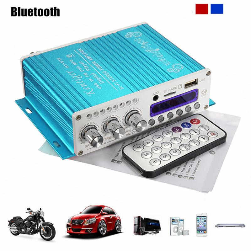 BYGD Originale Auto Radio Accessori Auto 12 v 5A Digitale Bluetooth Mini HiFi Amplificatore Stereo Audio AMP Per Auto A Casa MP3 Lettore