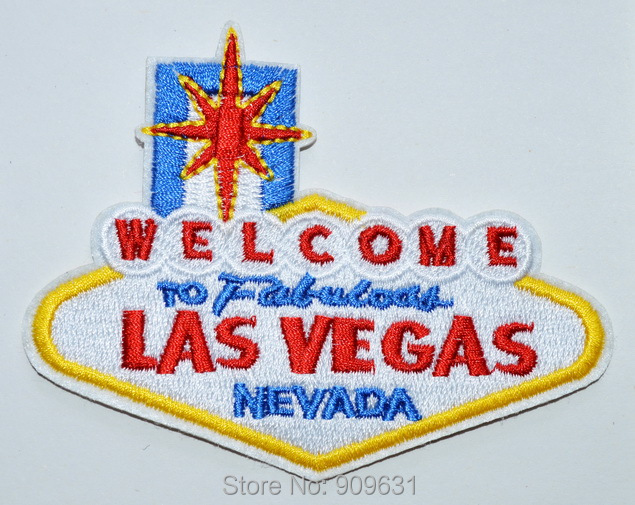 Welcome To Fabulous Las Vegas Embroidered Iron On Or Sew On Patch