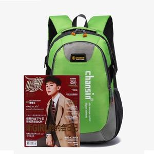 Image 5 - 2020 Hot Sell Male Backpacks School Bag Boys For Teenagers Chain Oxford Waterproof Backpack Men Backpack Casual Nylon backpacks