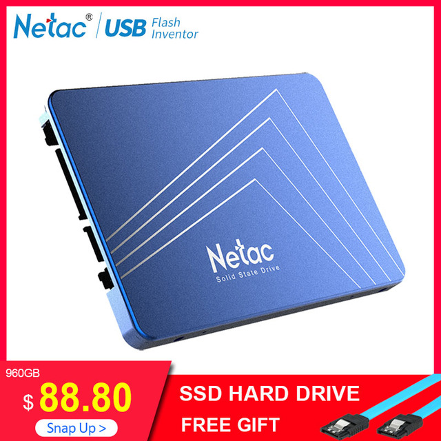 Netac N500S SSD 240 GB 2.5 ''480 GB SSD 120 GB 1 TB Đĩa TLC 60 GB Nội Bộ Ổ SSD 720 GB Ổ Cứng Máy Tính