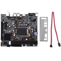 Desktop H61 Computer Motherboard 1155 Pin Cpu Interface Upgrade Usb2.0 Ddr3 1600/1333 2 X Ddr3 Dimm Memory Slots Mainboard|Motherboards| |  -