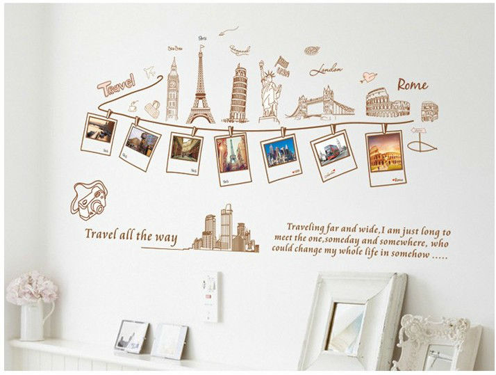 Bedroom Large Removable Wall Decals For Kids Room Child Love Bathroom Painting Vinyl Stickers Home Decoration Art Paper In From