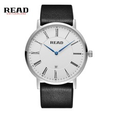 READ Brand Men Watches Casual Leather Band Watch Male Wristwatch R2067