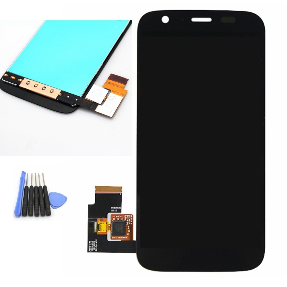 ФОТО Black For Motorola MOTO G XT1032 / XT1033 LCD Display touch Screen with Digitizer Assembly + Tools Free shipping