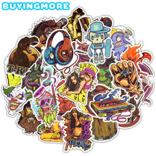 50 PCS Horror Stickers Toys Graffiti Punk Rock Sexy Waterproof Decal DIY Laptop Skateboard Guitar Car Motorcycle Helmet